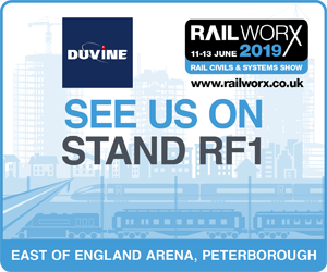 Duvine Exhibiting at RailWorx 2019